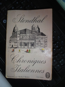 Chroniques italiennes - Stendhal